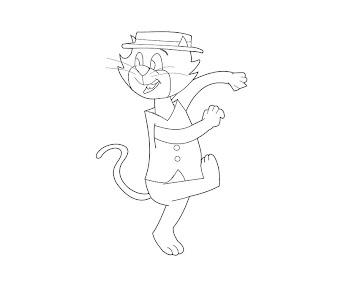 #13 Top Cat Coloring Page