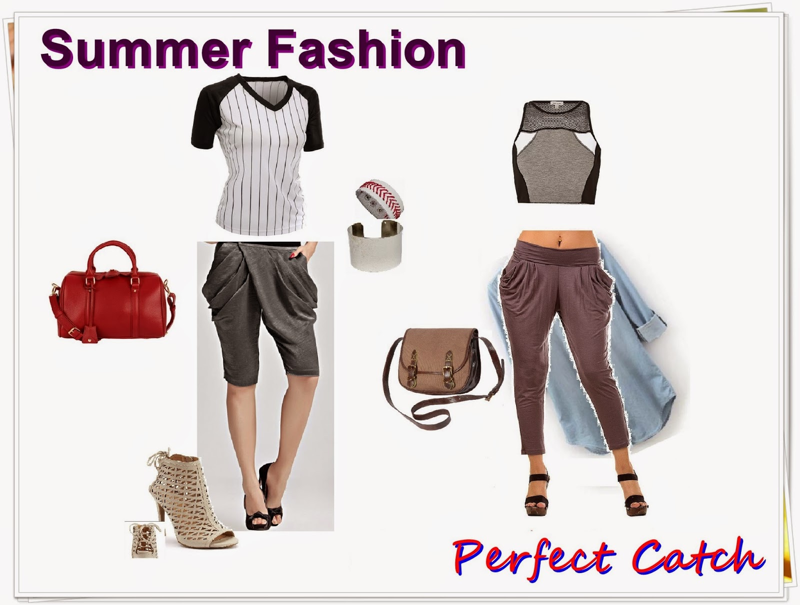 Meg-made Creations Summertime Fashion Tips and Trends - How to dress sexy and appropriately AND ...