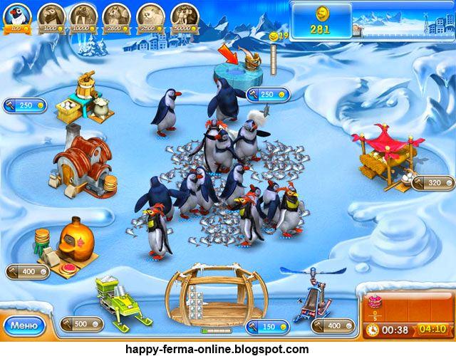 Веселая ферма 3. Ледниковый период / Farm Frenzy 3 Ice Age.