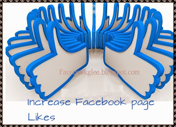 How to increase facbook page likes