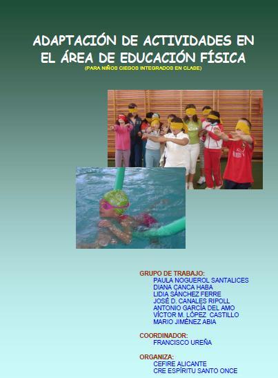 La imagen muestra la portada del libro con unos niños jugando con los ojos vendados