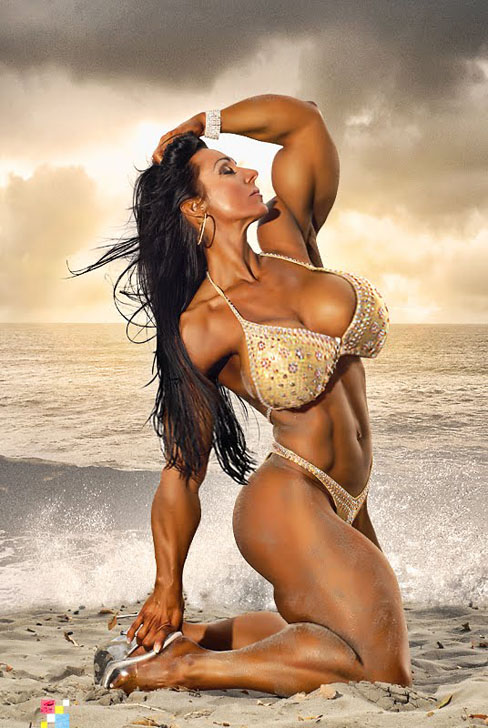 Maiken Emborg Female Muscle Morph Bodybuilding Blog Shemuscle