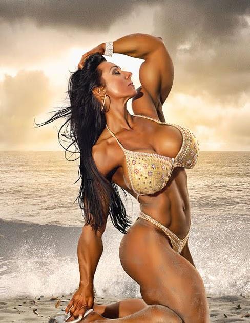 World Wide Body Buider: Maiken Emborg Female Muscle Morph