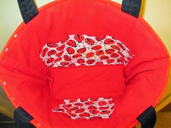 ladybug purse