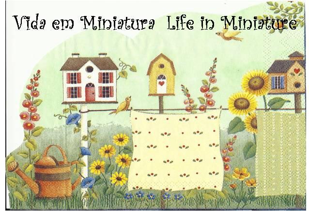 Vida em Miniatura... Life in Miniature...