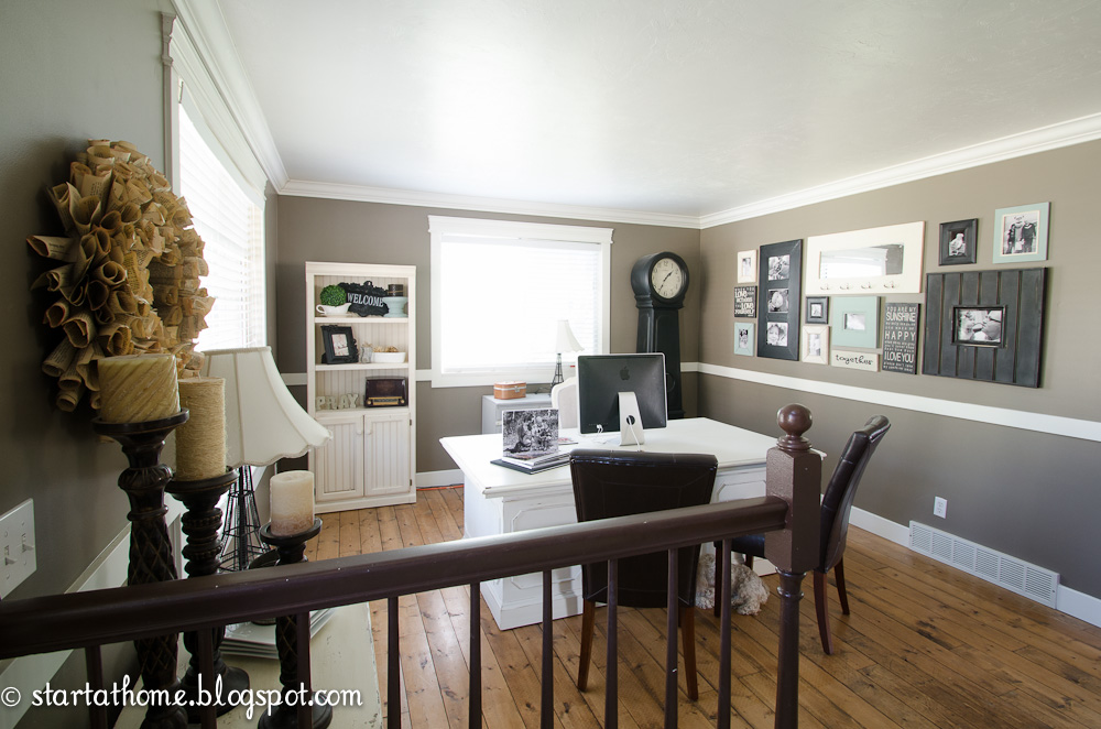 Start at Home: Living Room Turned Office Update