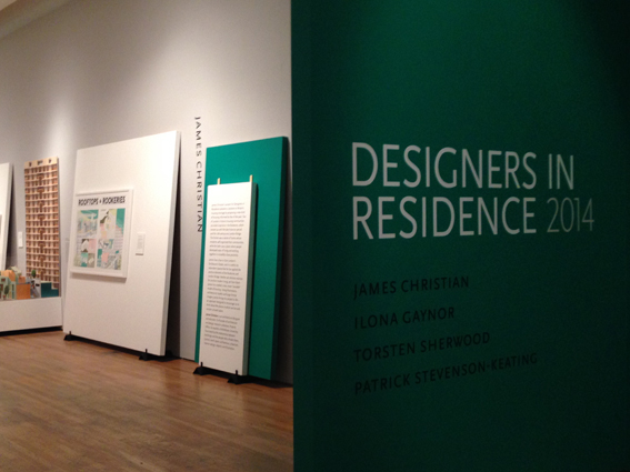 Designers in Residence 2014 at the Design Museum