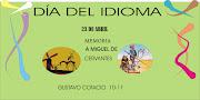 El día 23 de abril es el día del Idioma Español