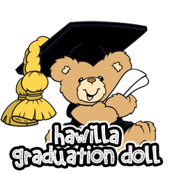 Hawilla Graduation Doll