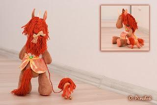 лошадка, конь, лошадка ручной работы, год лошади