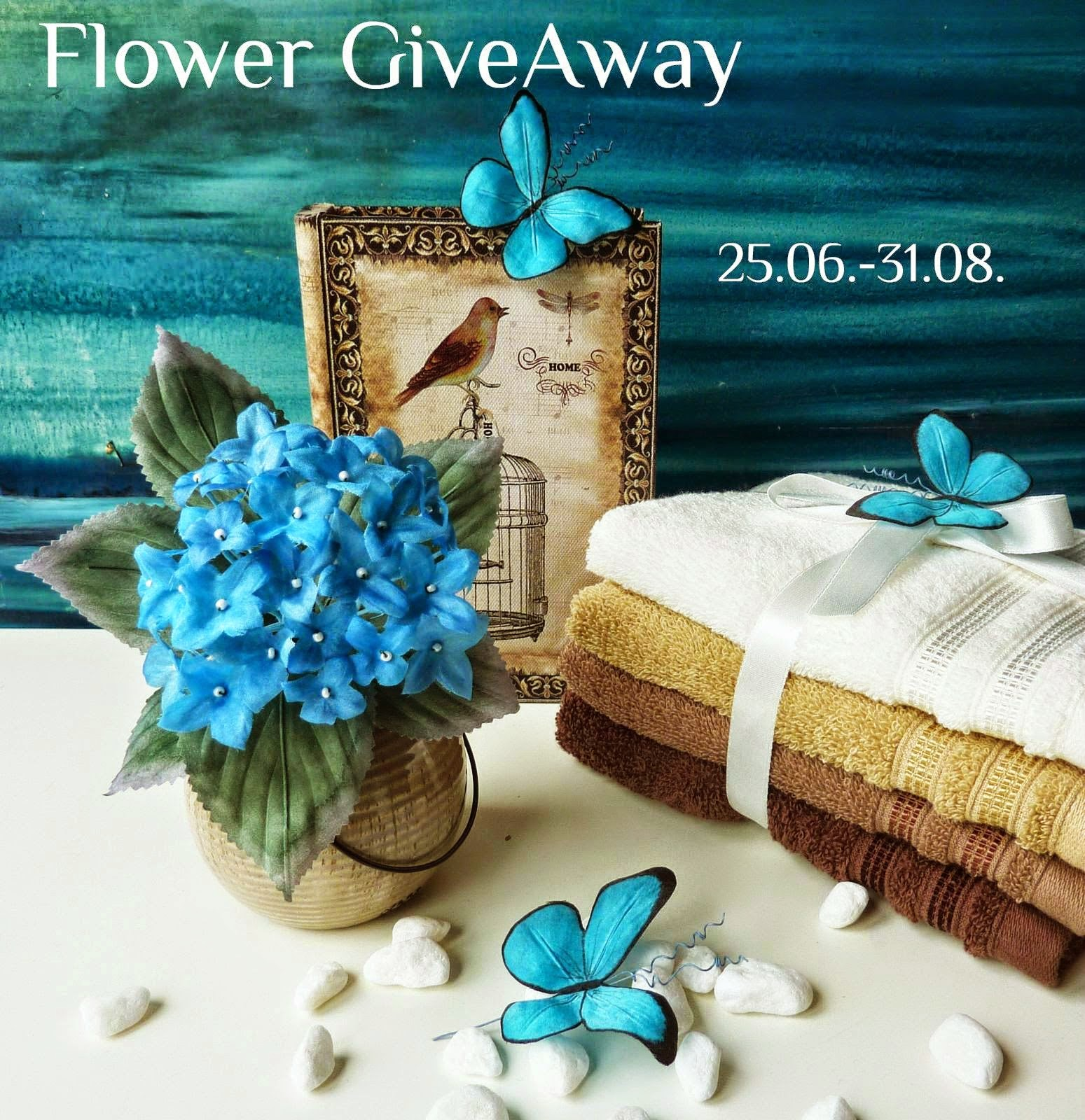 Цветочная Конфетка!!!/ Flower GiveAway!!!