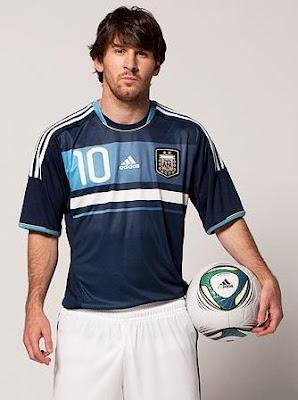 messi camiseta azul seleccion argentina
