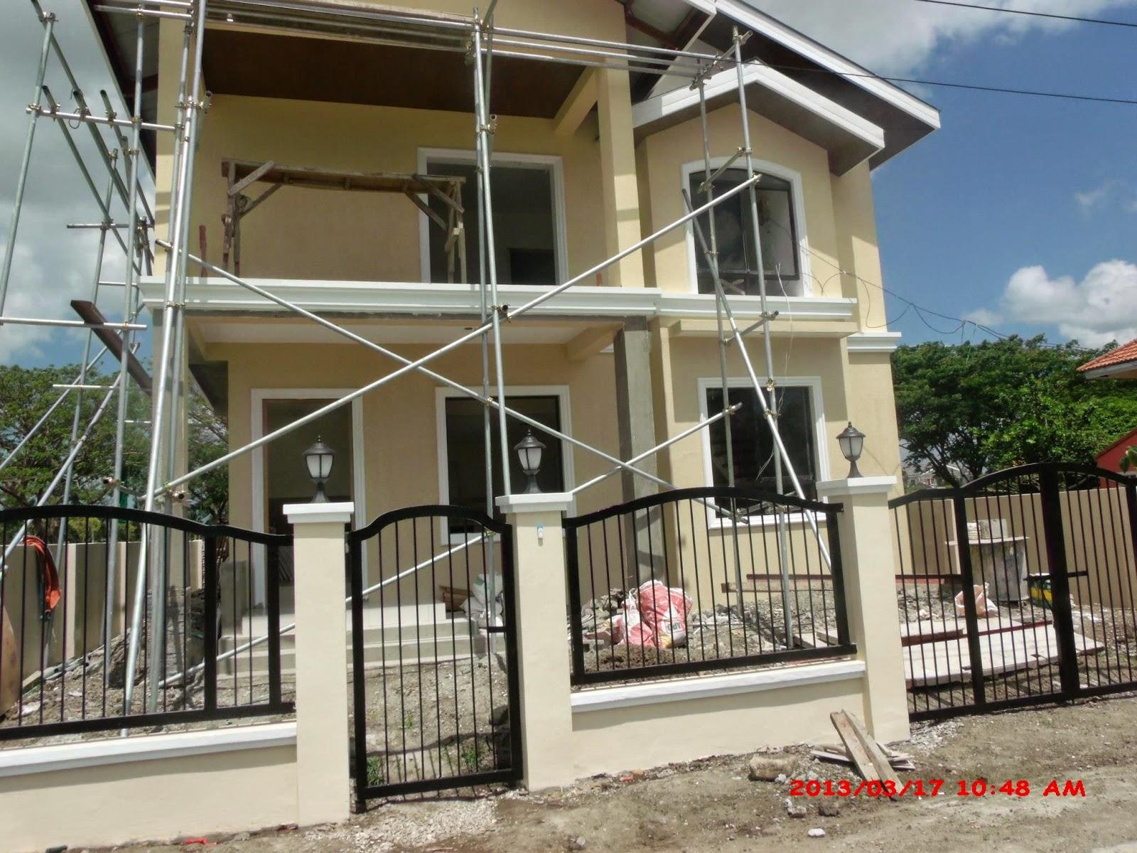 Savannah Trails house construction project in Oton, Iloilo ...