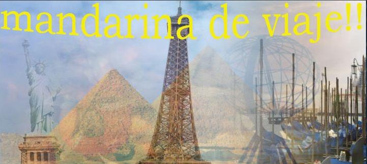 MANDARINA DE VIAJE