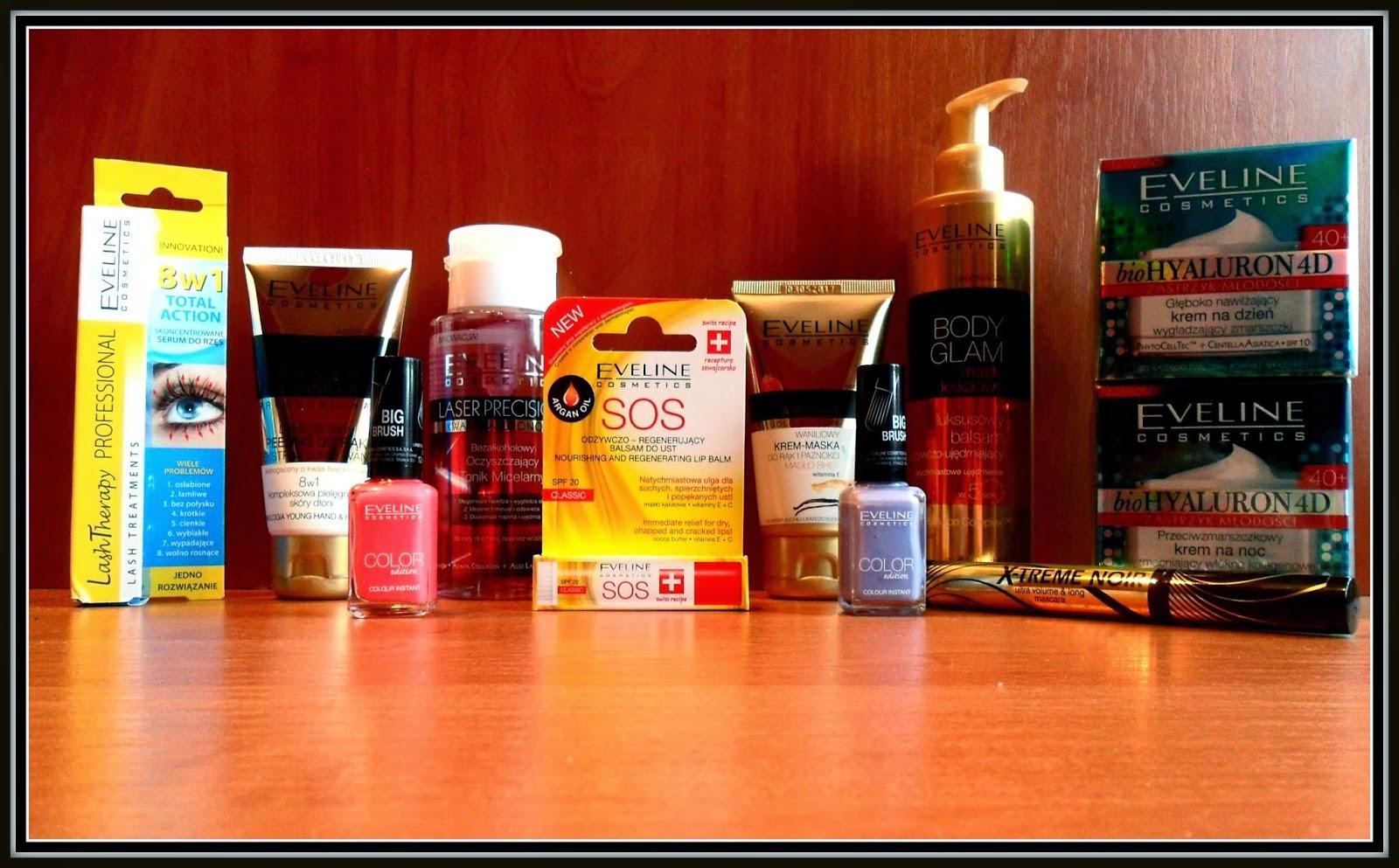 Paczka z kosmetykami od Eveline Cosmetics- Początek wielkiego testowania :)