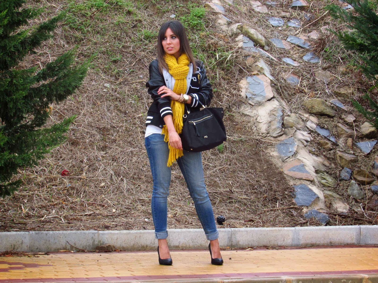 cristina style fashion blogger malagueña street style ootd outfit look teenvogue inspiration