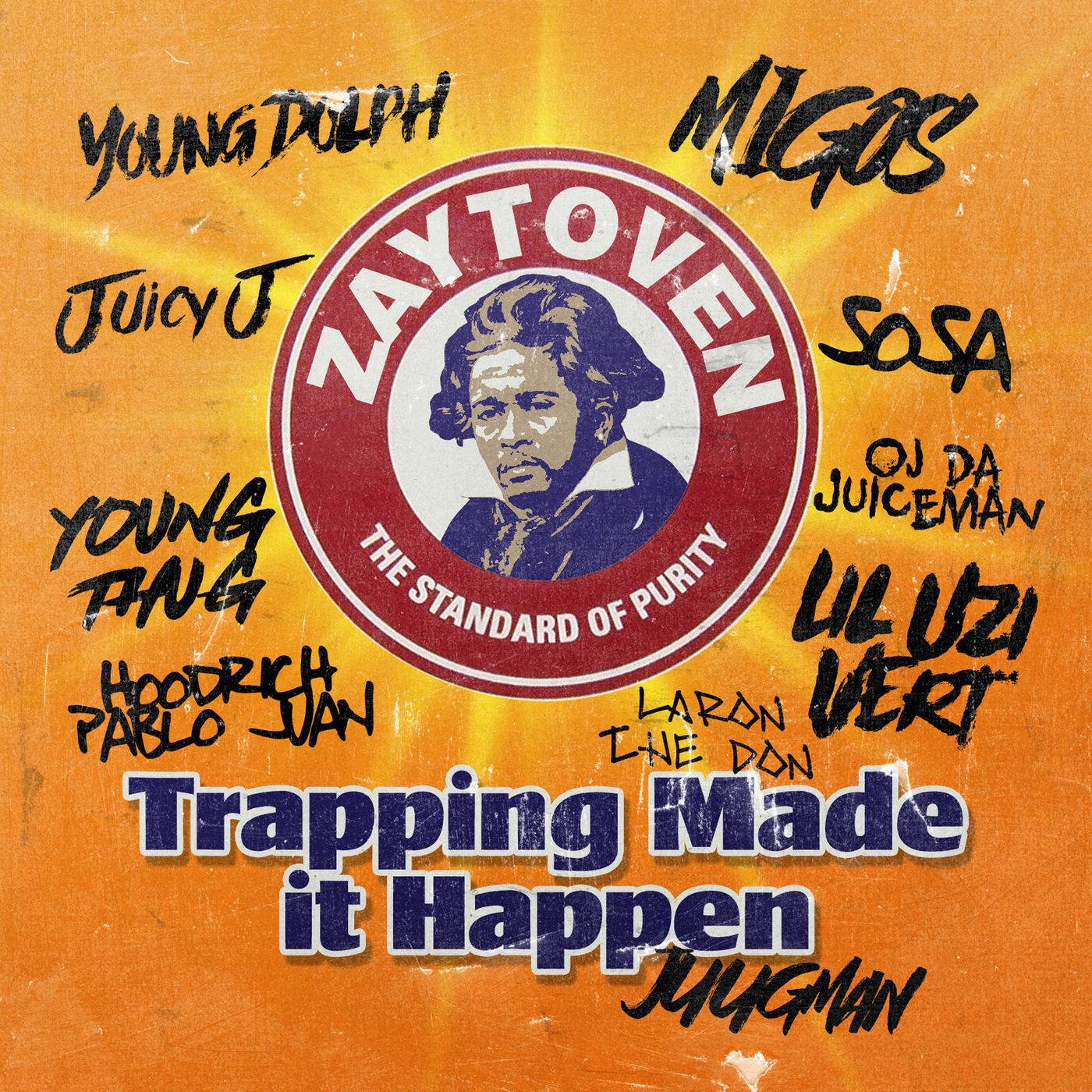 Zaytoven - Zaytoven Presents: Trapping Made It Happen Cover