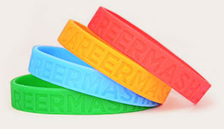 Amazing Wristbands Embossed