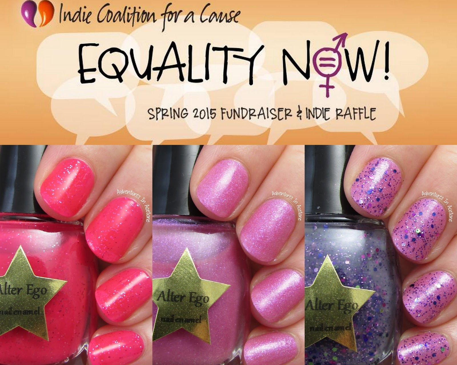 As I Ve Said Before In My Many Review Posts Of Alter Ego Nail Enamels Cynthia Uses A Unique Base And Therefore All Her Polishes Dry To Matte Finish