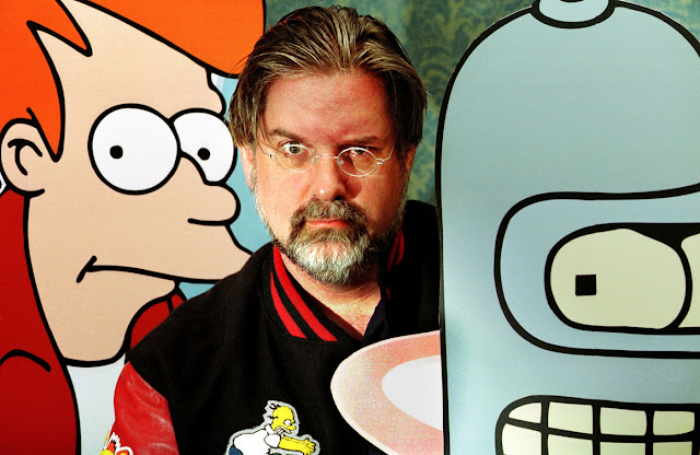 Criador do 'Simpsons' Matt Groening está em negociações com a Netflix