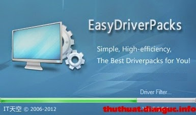 Download bộ DRIVER OFFLINE mới nhất cho Win 7, 8 XP – Easy DriverPack 5.3.2