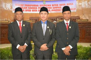 DPRD Kota Bima Tetapkan  Jadwal Kegiatan Masa Sidang II