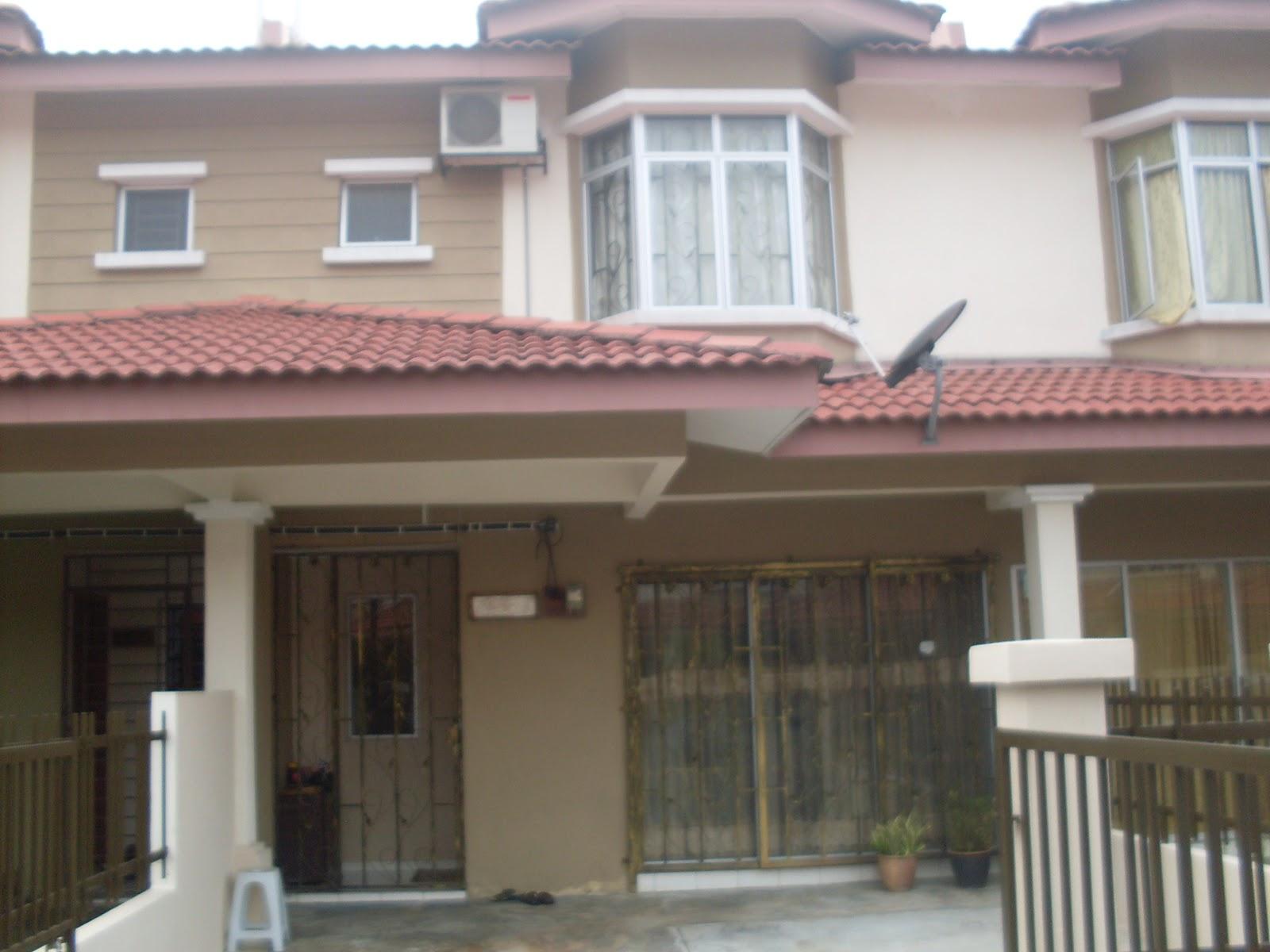 rumah pertama kamipejam celik dah tahun ke-5 kami tinggal di sini