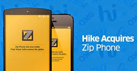hike aquires zip phone