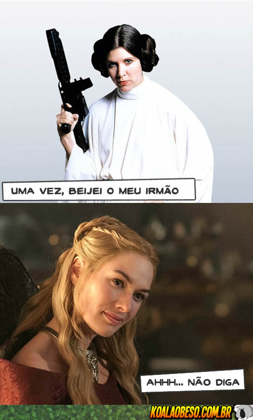 Star Wars X Game of Thrones - Leia X Cersei