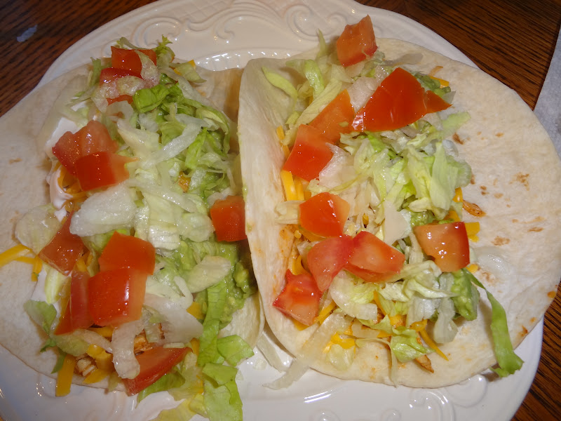 Cookin Mama Crock Pot Chicken Soft Tacos