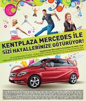 Konya-Kent-Plaza-AVM-Mercedes-B180-Çekiliş-Kampanyası