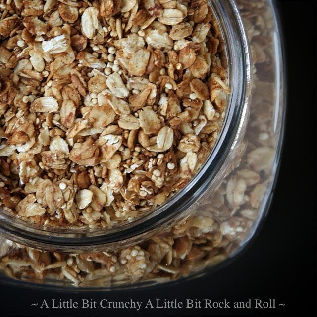 Little Bit Crunchy A Little Bit Rock and Roll: Quinoa Granola