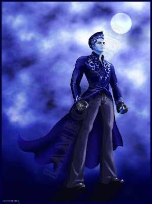 Adam Lambert anime superhero Sleepwalker artwork
