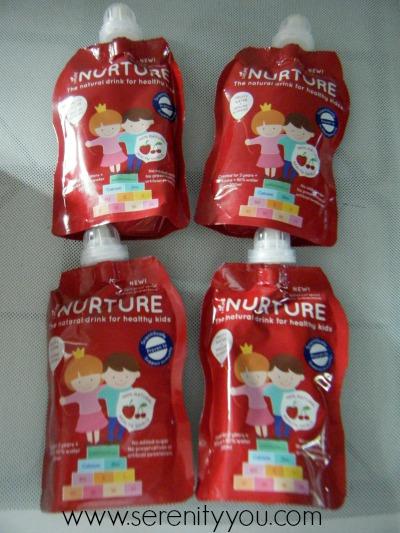 Nurture - Healthy Kids Drinks in pouches
