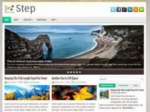 Step - Free Wordpress Theme