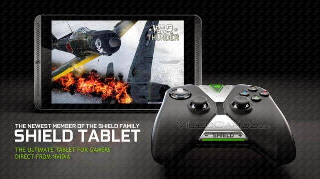 Tablet NVIDIA Shield anunciada para el 22 de julio