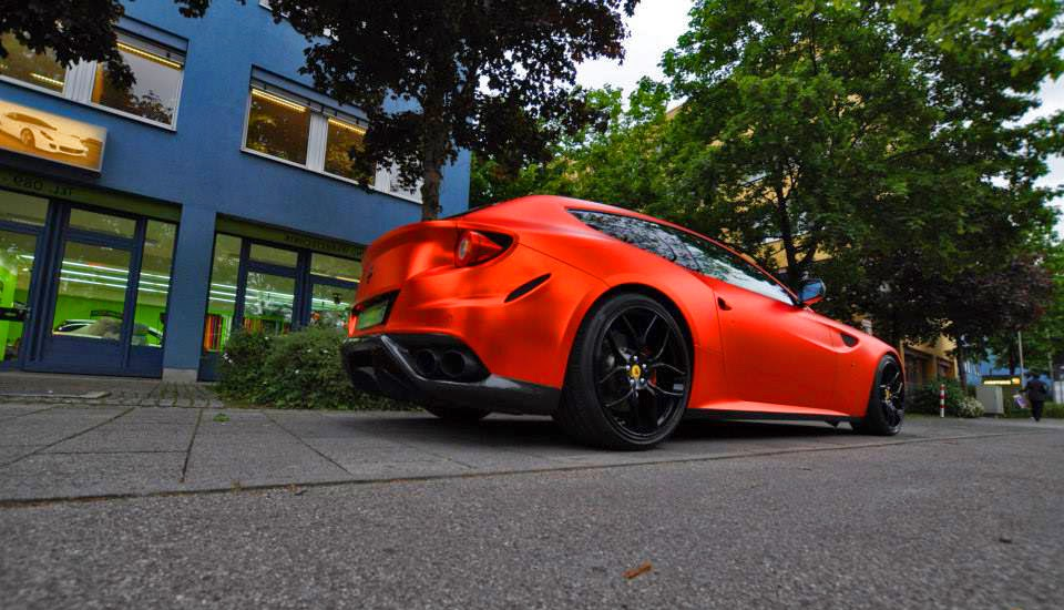 Ferrari FF Orange Chrome Novitec Rosso Pictures