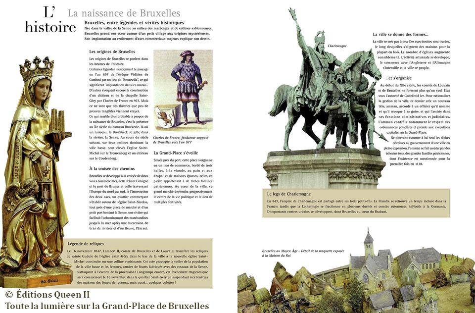 """""""Toute la lumière sur la Grand-Place de Bruxelles"""" (Lillo Chiarenza - Valérie Paelinck - Philippe Denis - éditions Queen II) - Bruxelles-Bruxellons"""