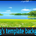How to make Blog's template background animated?
