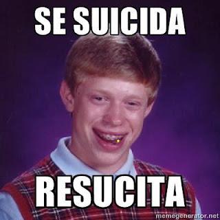 Meme de la Mala Suerte, Bad Luck Brian en español !!