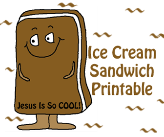"Ice Cream Sandwich ""Jesus Is So Cool!"""