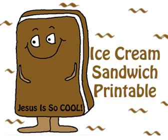"Ice Cream Sandwich ""Jesus Is So Cool!"""