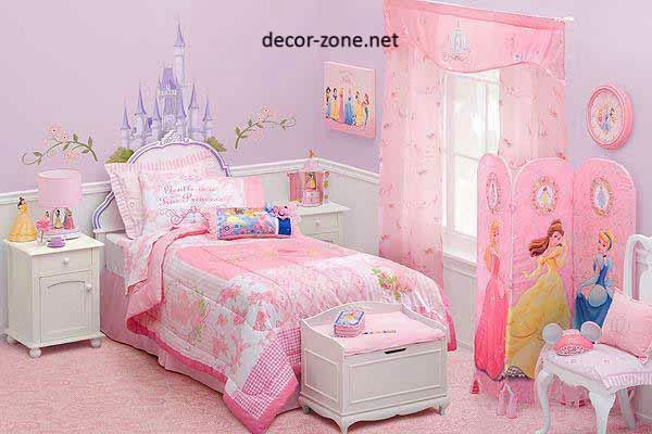 girls bedroom design ideas for the style of Cinderella