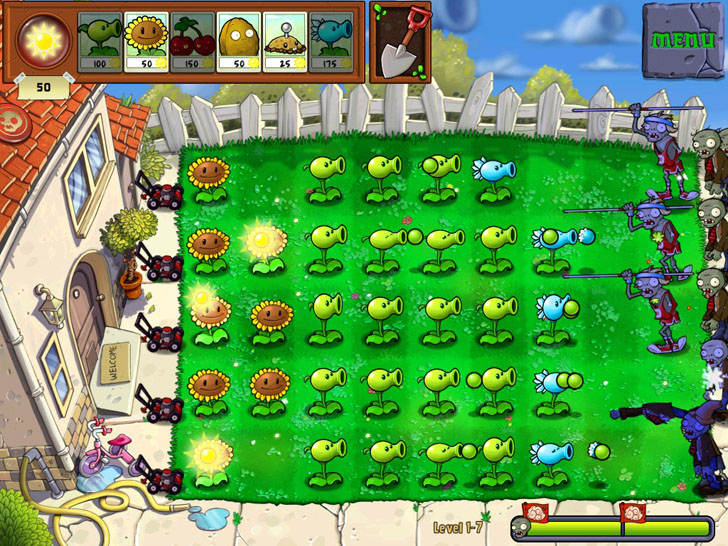Plants vs. Zombies Free App Game By PopCap