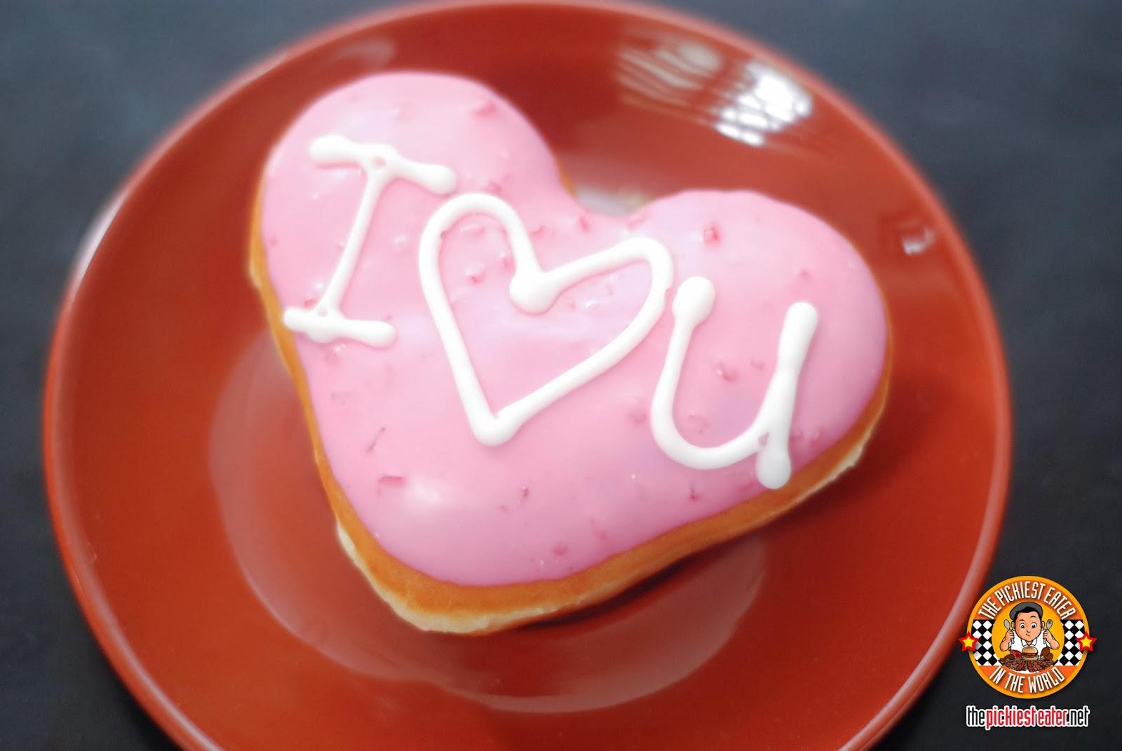 krispy kreme love doughnut