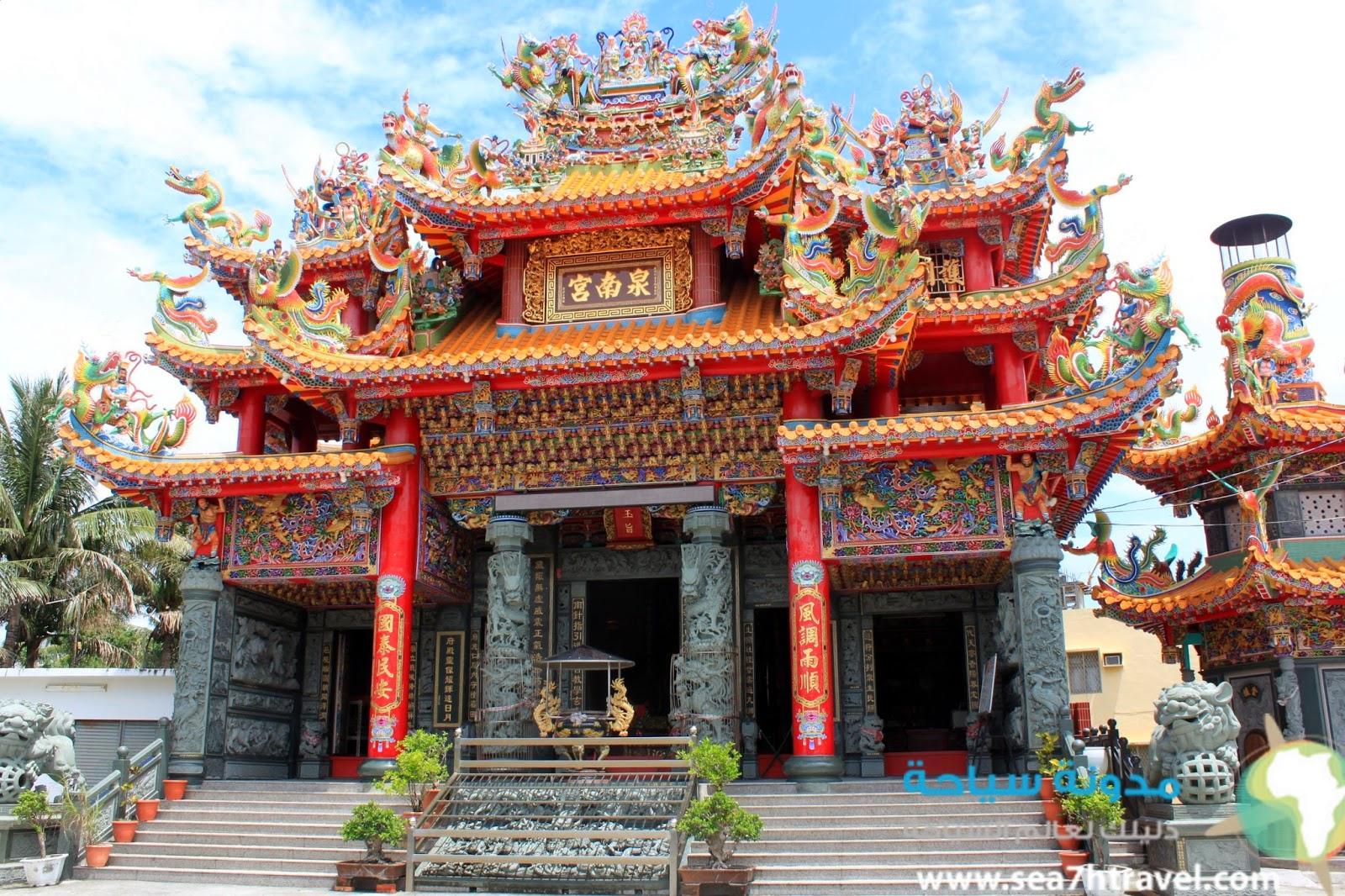 معبد كيوان qiwan temple