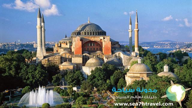 نبذه عن يا صوفيا أعجوبة المعمار التركي