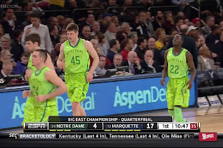 ugly Notre Dame basketball uniforms funny