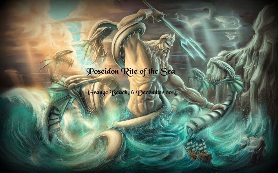 Poseidon Beach ritual (6 December 2014)