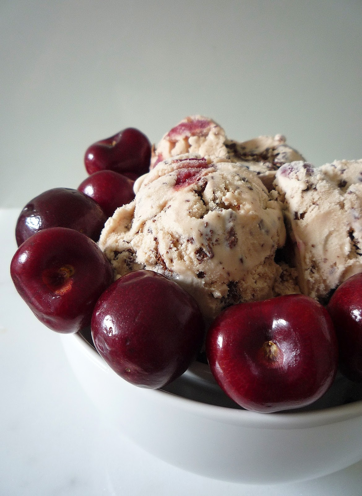 Cherry And Chocolate Stracciatella Ice Cream Recipes — Dishmaps